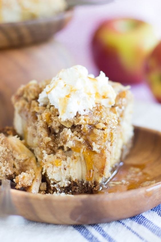 Caramelized Apple With Maple Mascarpone Recipe — Dishmaps