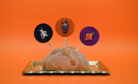 Toppers decorativos para Halloween de Lovely Party
