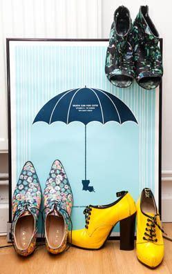 We think Geri from the Spice Girls got it wrong... It's raining shoes up in here!   http://thecoveteur.com/Susie_Lau#