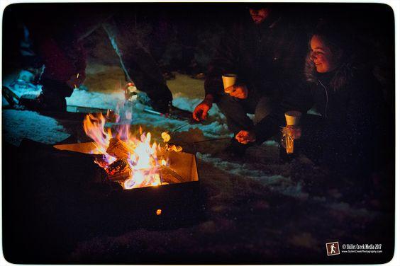 - Devil's Lake State Park Candlelight Snowshoe, Feb 2017