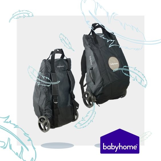 Comfortable and light (just 6kg!), BABYHOME Emotion stroller can be easily packed and carried  so you can make family trips much easier 🎈🎈 What's your next destination?!
