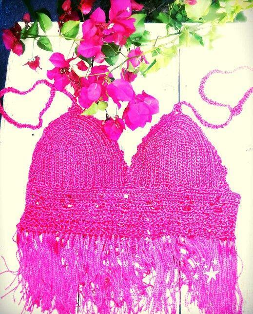 Fucsia.top crops.crochet.verano 2016. https://m.facebook.com/www.paramarce.com.ar/