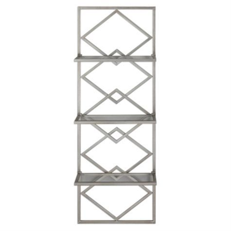 Eleanore Etagere From Z Gallerie With Images Silver Walls