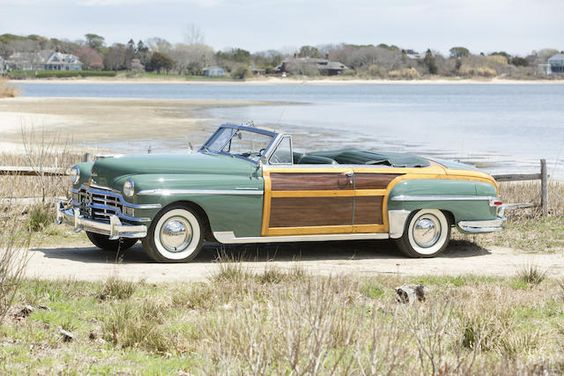 <b>1949 Chrysler Town & Country Convertible  </b><br />Chassis no. 7410234 <br />Engine no. C46-18557