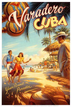 Varadero, Cuba Reproduction d'art