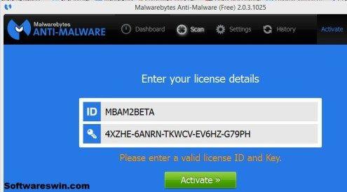 Malwarebytes for mac working keys windows 10