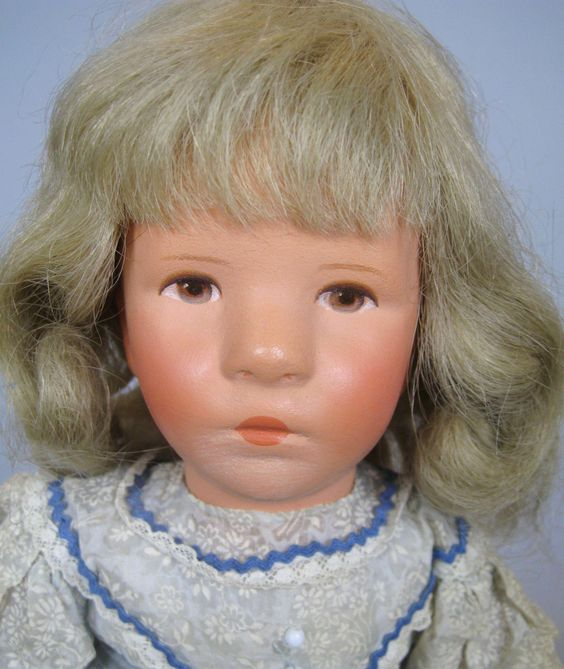 Vintage Kathe Kruse US Zone Doll 1950s ~ Doll IX Little German Child