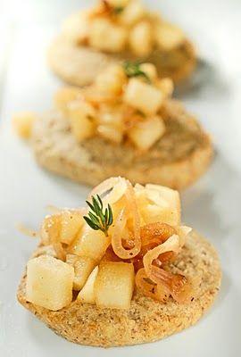 Cheese + Walnut Crackers & Warm Apples + Smoky Shallots | Crackers ...
