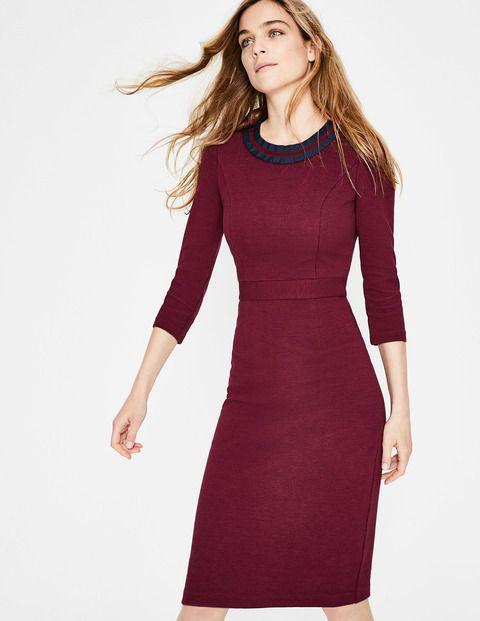Polperro Ottoman Dress | Smart day dresses, Dresses, Day dresses