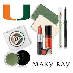 Mary Kay is all about the U! University of Miami Football! GO CANES!