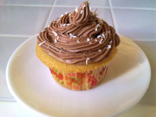Cupcakes con buttercream de nutella
