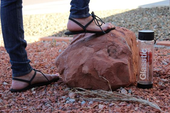 One winner will receive their choice of a customized pair of GladSoles Street model barefoot sandals #Giveaway ends 5/20/14