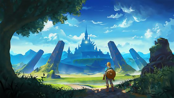 Check Out Our 68 The Legend Of Zelda Breath Of The Wild Wallpapers And Backgrounds And Download Them On All Your D Legend Of Zelda Zelda Hd Breath Of The Wild