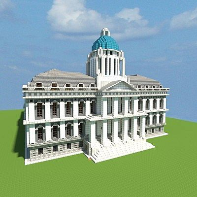 City Hall Vitruvian City Minecraft Project Minecraft