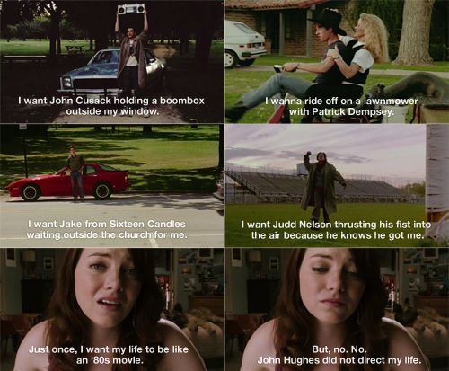 If only...: Movies Tv, Emma Stone, Movie Quotes, Favorite Movie, 80S Movies, Tv Movie, 80 S Movies