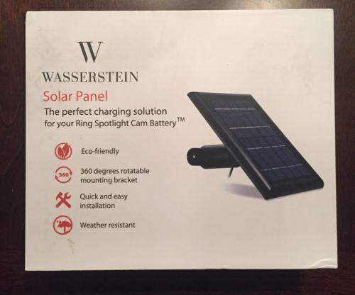 Alternative And Solar Energy 41979 Wasserstein Solar Panel Perfect Solution Solar Energy Ring Spotlight Cam Battery Buy It Solar Panels Solar Energy Solar