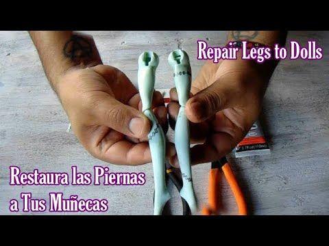 Repara Pierna Rota De Monster High Piernas Monster High Muñecas