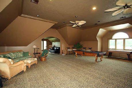 Bonus Rooms And Garage On Pinterest