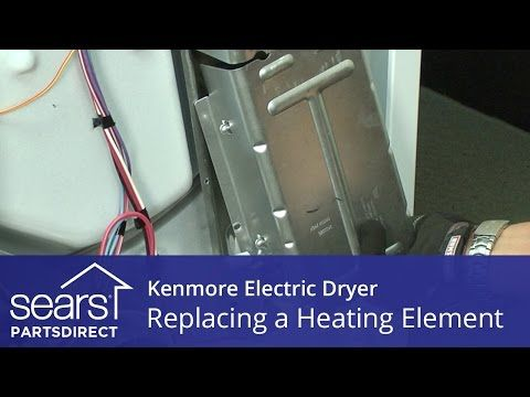 Www Searspartsdirect Com Repair Guide Dryer How To Replace A Heating Element In An Electric Dryer Html Electric Dryers Heating Element Whirlpool Dryer