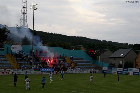F91 Diddeleng - FK Qarabağ Ağdam 1:1, Stade Jos Nosbaum, 20.7.2016 #UCL #Luxembourg