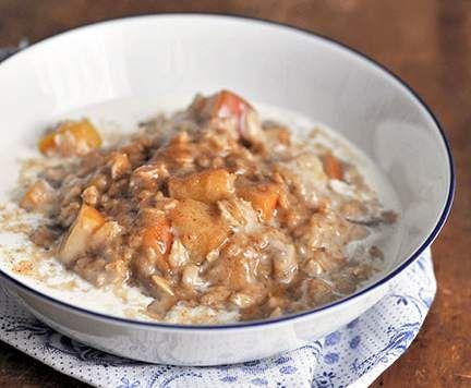 Rezept Apfelkuchen-Porridge von Mixtastisch - Rezept der Kategorie sonstige Hauptgerichte
