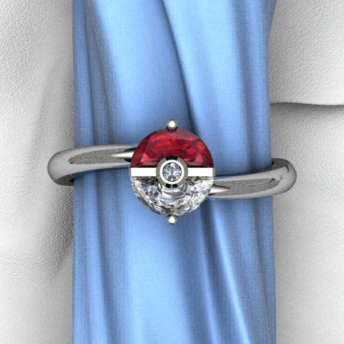 Plain Trainer's Band - My husband and I both agree that he should have proposed with this ring (he did propose with a pokeball though).