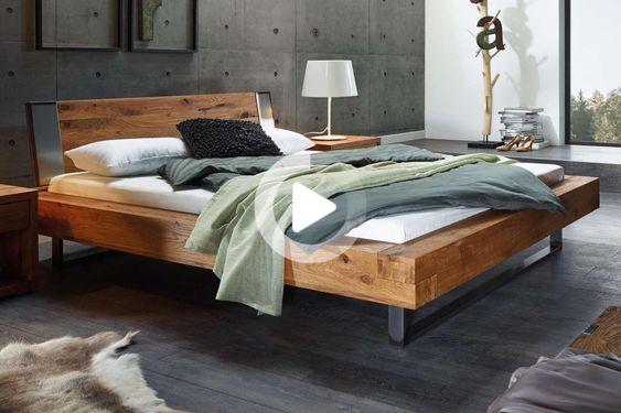Hasena Bett Oak Wild Aosta Indus Sion Capa 140x210 Cm En 2020 Relooking Chambre Decoration Interieure Decoration Maison