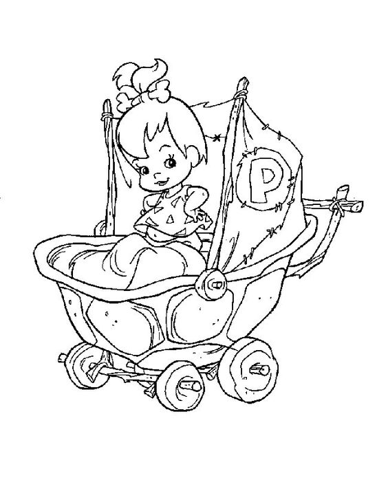dino from flintstones coloring pages - photo#36