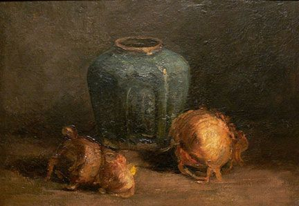 Van Gogh - Still Life with Ginger Jar and Onions, 1885, The McMaster Art Gallery, Hamilton, Ontario