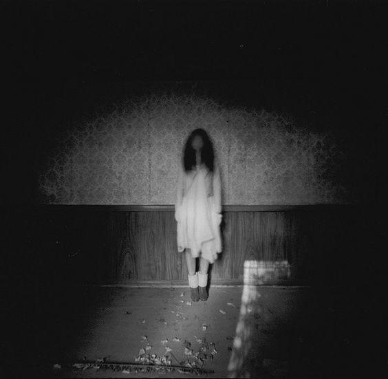 creepy like a japanese horror film photography