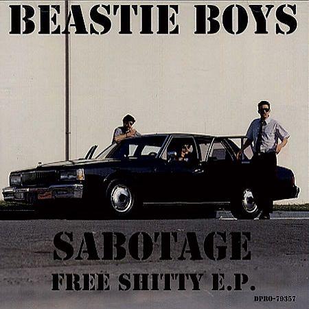 Beastie Boys – Sabotage (single cover art)