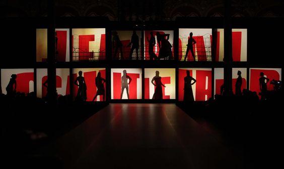 Jean Paul Gaultier Fashion Show Stage Fashion Show