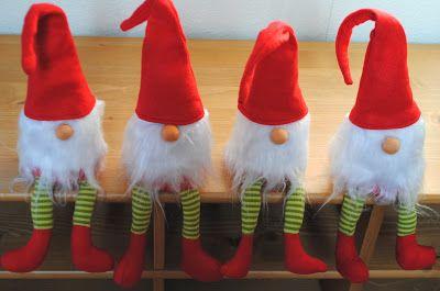 Nähanleitung für Weihnachtswichtel