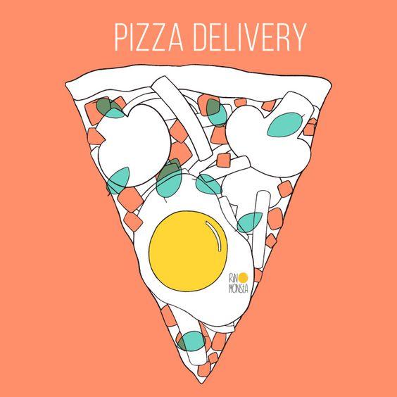 Pizza ~ RINOMONSTA: