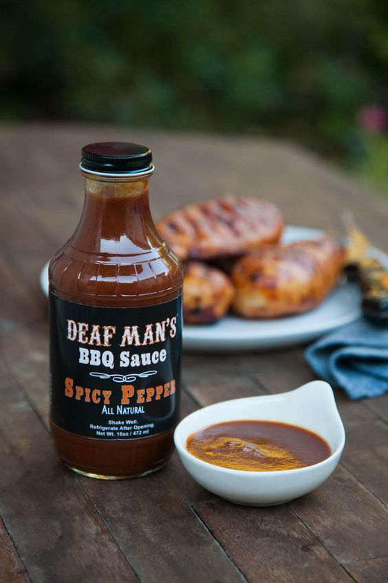 Deaf Man's Spicy Pepper BBQ Sauce