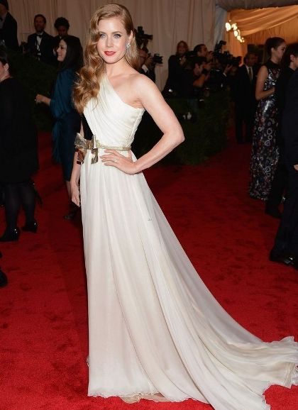 Amy Adams at  Met Ball 2012