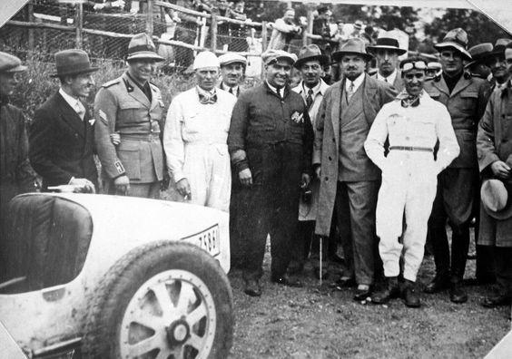 Achille Varzi, Guiseppe Campari & Tazio Nuvolari