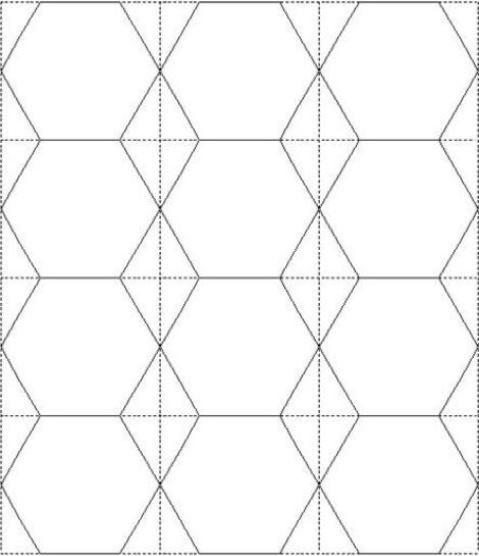 Number Names Worksheets hexagon printable template : Pinterest • The world's catalog of ideas