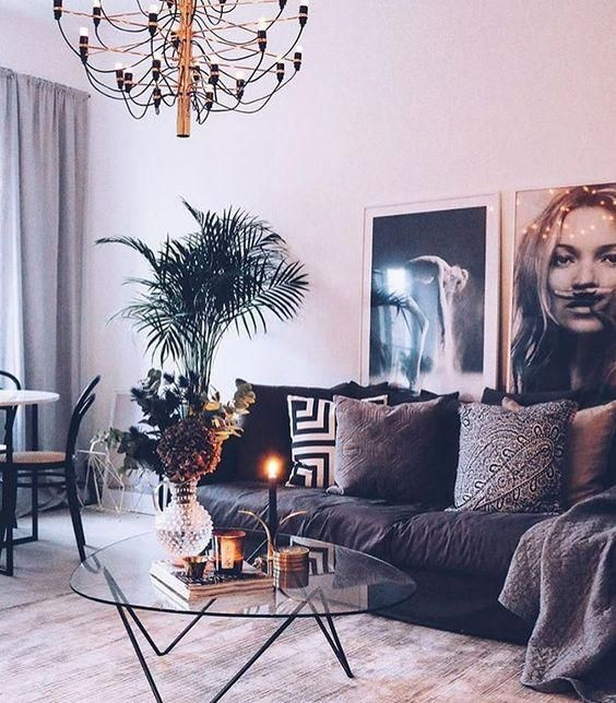 Modern Chanel/Kate Moss/Lips Fashion Wall Art