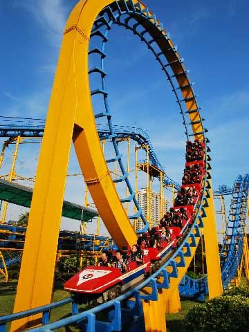 Roller Coaster Rides for Sale In Pakistan - Beston Roller Coaster