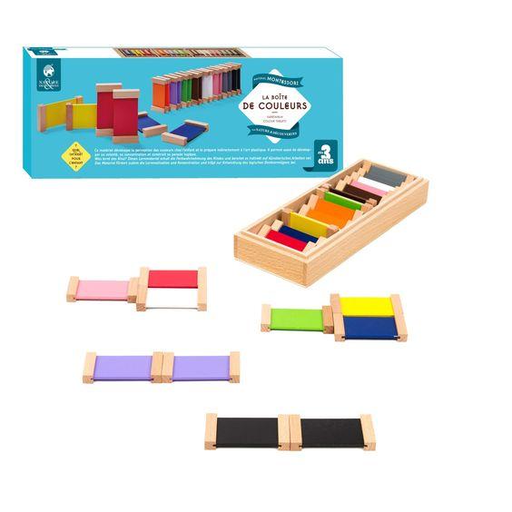 La boîte de couleurs - Un apprentissage Montessori, pour grandir en confiance - 22,95 €
