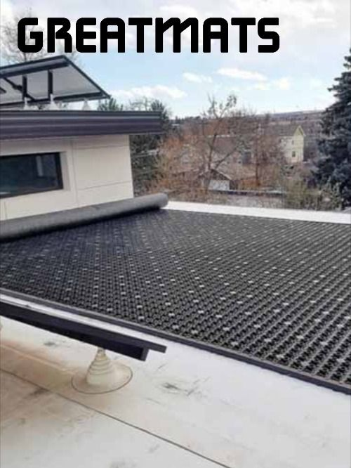 Rooftop Open Drainage Tile For Dog Training Artificial Grass Turf In 2020 Outdoor Flooring Deck Flooring Balcony Flooring