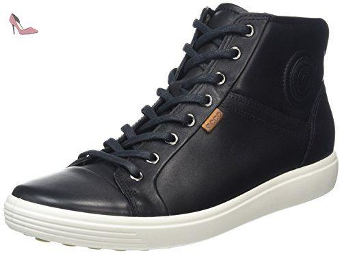 Soft 7, Sneakers Hautes Homme, Noir (59075Black/Lion), 41 EUEcco