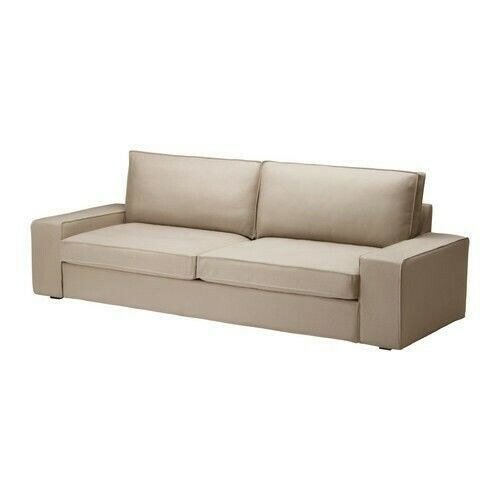 Ikea Cover For Kivik 3 Seat Sofa 89 3 4 Dansbo Beige Slipcover 502 112 03 New Ikea Sofa Ideas Of Ikea Sofa Sofa Ikea Ikea Ikea Sofa Sofa Bed Kivik Sofa