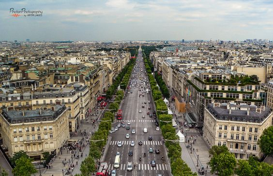 Bela fotografia de Paris