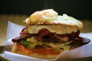What's Cookin? It's Saturday, Go Make Me A Sandwich! 7/14: Chivito Sandwich (Uruguay)