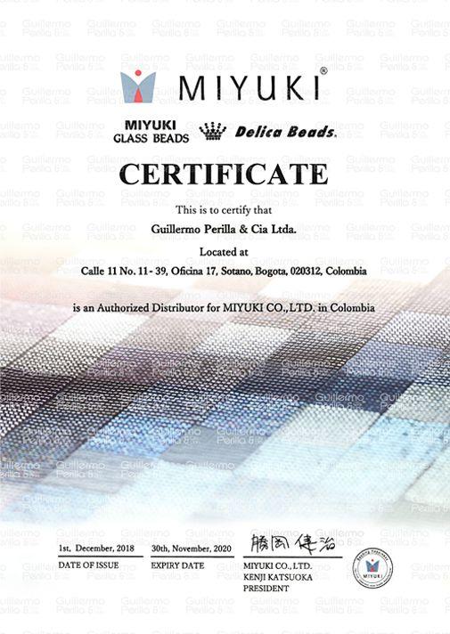 Certificado 2020