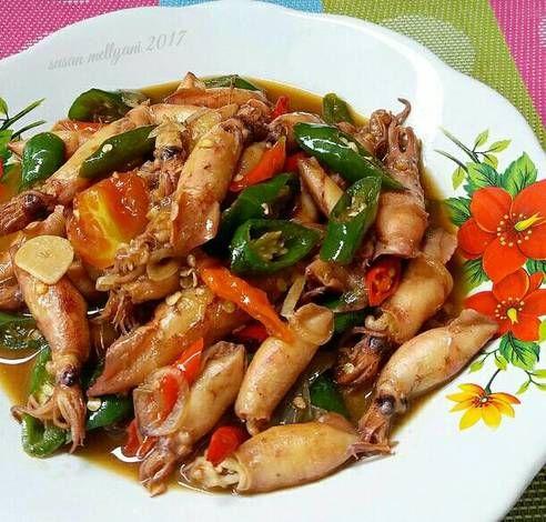 Resep Cumi Asin Cabe Ijo Oleh Susan Mellyani Resep Resep Resep Masakan Malaysia Resep Masakan Cina