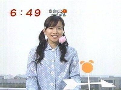 TVに出始めたころの皆藤愛子