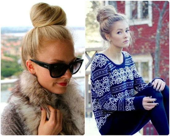 Strange Top Knot Knots And Knot Hairstyles On Pinterest Hairstyle Inspiration Daily Dogsangcom